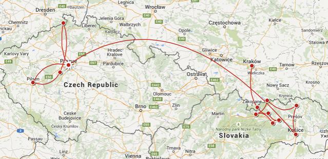 Circuit guidé: 3 pays Europe centrale (10j)